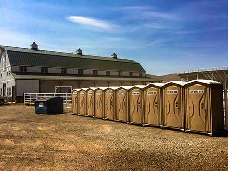 portable toilet porta potty rentals salt lake city, ut