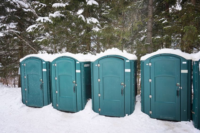 tips for winter portapotty rental in Salt Lake City